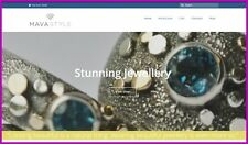 """Fully Stocked Dropship JEWELLERY Website High Profit Margin - """"300 Hits a Day"""""""