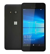 Microsoft/Nokia Lumia 550 Black 3G SIM Free Windows(10) Touch Screen Phone