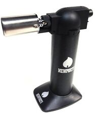"NewPort Torch Lighter 6"" Butane Black Cigar Color Series / Quality & Adjustable"