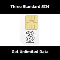 New SIM Card On Three Network For All Smart Phones - 3 Network
