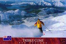 Ansichtskarte: Trebble Cone Skifield, Otago, Neuseeland