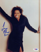 LISA NICOLE CARSON SIGNED AUTOGRAPHED 8x10 PHOTO ALLY MCBEAL RARE PSA/DNA