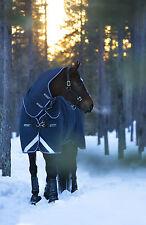 Horseware Amigo Plus 1200D Regendecke mit Halsteil Gr145  im perfekten Schnitt**