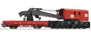 Roco H0 56240 Kranwagen mit Schutzwagen der DB AG - NEU + OVP