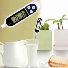 2X Digital Food Thermometer BBQ Meat Stab Probe Kitchen Cooking Temperature