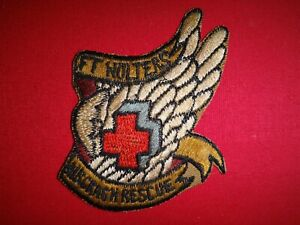 US Air Force FORT WOLTERS Texas air Crash Rescue Patch