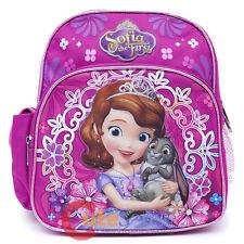 Disney Sofia The First Zaino Scuola 10 Bambini Piccolo Mini Borsa