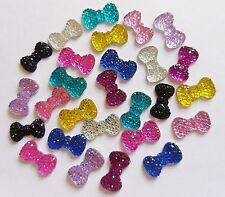 "20 Piezas ""impresionante Cristal Brillo Arcos Mix R"" 3d Acrílico Nail Art Decoración Artesanal"