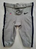 Dallas Cowboys Player Issued Silver Football Pants - Size 36 Short - 2014