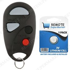 Replacement for 2000 2001 2002 2003 2004 Nissan Sentra Remote Car Key Fob