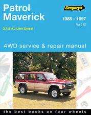 Gregorys Nissan Patrol Diesel GQ 1988-1997 Workshop Repair Manual MPN GAP05512