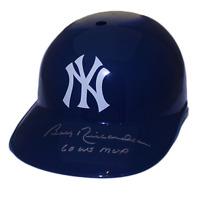 Bobby Richardson Yankees Autographed Full Size Souvenir Baseball Batting Helmet