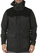 BURTON Men's FOLSOM Snow Jacket - TrueBlack/TrueBlackWax - Medium - NWT