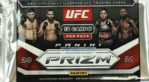 2021 PANINI PRIZM UFC DEBUT EDITION FACTORY SEALED HOBBY PACK NEW AUSSIE SELLER!