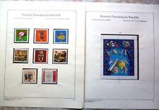 DDR - Sammlung aus 1971 bis 1980 - postfrisch** - im Abria-/Kabe-Vordruckalbum