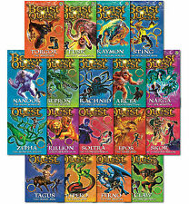 Beast Quest (Series1To3) - 18 Books Young Adult Collection Paperback By Adam Bla
