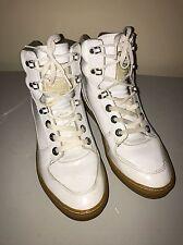 Coogi Australia Women's Size 9 White Ankle Boots Style CM1003