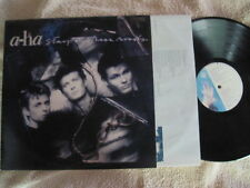 """A-HA STAY ON THESE ROADS VINYL RECORD LP 12"""" w/INNER"""