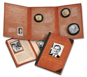 2021 Coin and Chronicles Set - George Herbert Walker Bush - Rev Proof