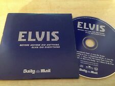 Elvis Before Anyone Did Anything Did Everything 10 TRACK PROMO AUDIO CD ALBUM