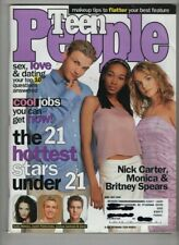 Teen People Mag Nick Carter Monica Britney Spears June/July 1999 012121nonr