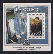Lesotho  1986  Sc # 548  Royal Wedding   s/s   MNH  OG   (50947)