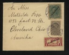Austria Qe5d on cover to Us Ms0109