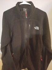 Men's The North Face Summit Series Full Zip Fleece Jacket Size L Large Black Zip