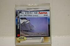filtre HAMA UV 390   62mm neuf