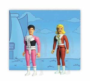 DC POCKET SUPER HEROES SERIES 1 2002 COSMIC BOY & SATURN GIRL