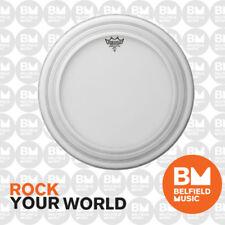 Remo PR-1122-00 Drum Head Powerstroke Pro 22'' 22inch Coated Skin Bass w/ Damper