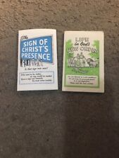Two Jehovah's Witnesses Tracts Watchtower Bible