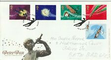 20 AUGUST 2002 PETER PAN ROYAL MAIL FIRST DAY COVER BETTER HOOK SHS