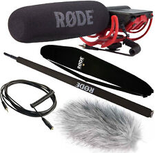 Rode Videomic  Rycote + Deadcat + Micro-Boompole + Bag + VC1 Kabel