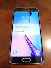 Samsung Galaxy S6 Edge SM-G925P - 64GB - Black Sapphire (Sprint) Smartphone