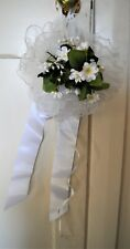 Vintage Handmade Artificial Wedding Bouquets BULK LOT (9)