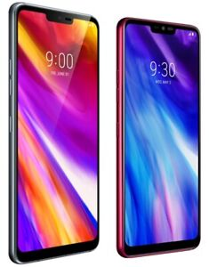LG G7 ThinQ G710TM - 64GB Platinum Grey Raspberry Rose (T-Mobile) 4G LTE Android