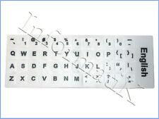 White English UK US Stickers Keyboard Labels for Laptop Notebook PC Dekstop