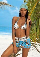 Triangel-Bikini, Venice Beach. Blau bedr Gr. 32. NEU!!!