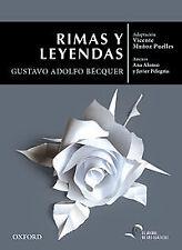 Rimas y leyendas de Gustavo Adolfo Bécquer. ENVÍO URGENTE (ESPAÑA)