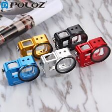 PULUZ Housing Shell Aluminum Alloy Protective Case with 52mm UV Lens For GoPro 5