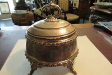 Zuckerdose 800 Silber um 1880