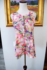 Sweet Pea for New York & Company Women Tops Tank Tops M Pink Nylon