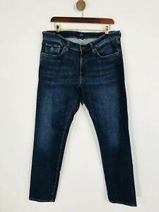 Gant Men's Slim Jeans   W34   Blue