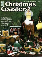 Plastic Canvas Christmas Coasters by Vicki Blizzard (1997)