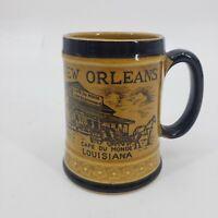 Vintage New Orleans Souvenir Mug French Quarter Cafe Du Monde Trade Mart Cup