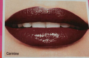 AVON COLOR TREND KISS 'N' GO LIPSTICK WITH SPF15 ~ IN SHADE CARMINE  *BRAND NEW*