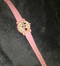 LORUS MINNIE MOUSE PINK Wrist Watch for Women  needs battery VINTAGE