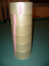 """CLEAR PACKING / SHIPPING TAPE - 6 ROLLS - BEST REVIEWS!  
