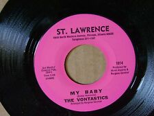 MINT/M- ORIG NORTHERN SOUL 45~THE VONTASTICS~MY BABY/DAY TRIPPER~ST LAWRENC~HEAR
